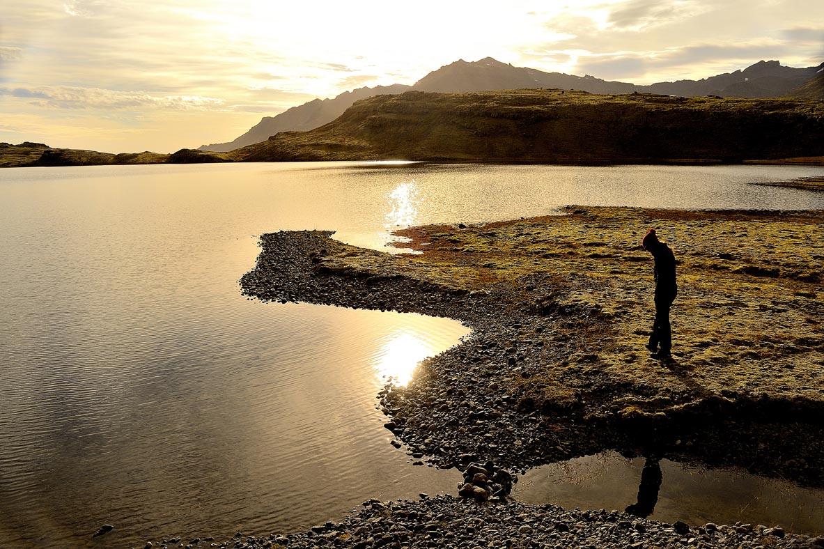 Lago del Glaciar Vatnajokull